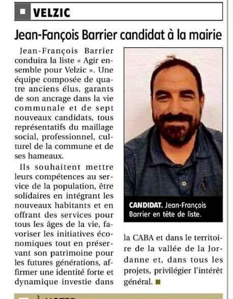 JEF candidat La Montagne 27 Février 2020 (1)